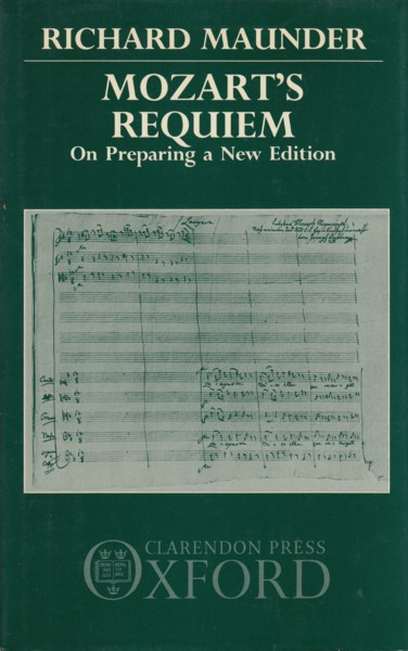 Image for Mozart's Requiem - On Preparing a New Edition