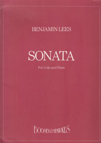 Image for Sonata for Cello and Piano