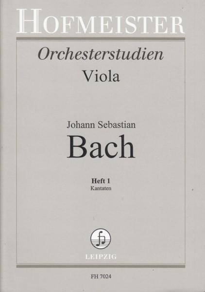 Orchestral Studies for Viola Volume 1 - Cantatas