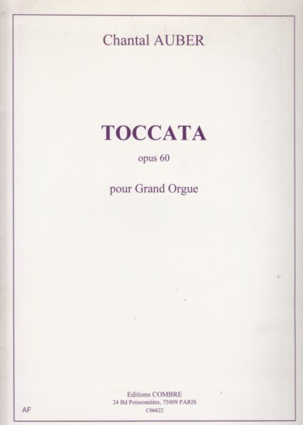 Image for Toccata Op.60 pour Grand Orgue