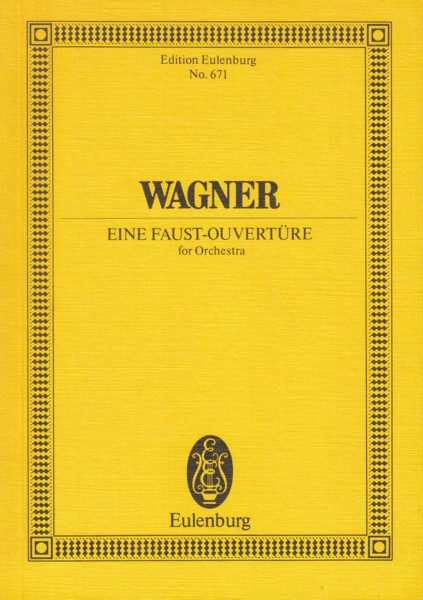 A Faust Overture - Study Score