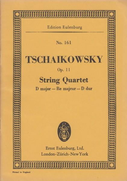 String Quartet in D major, Op.11 - Study Score