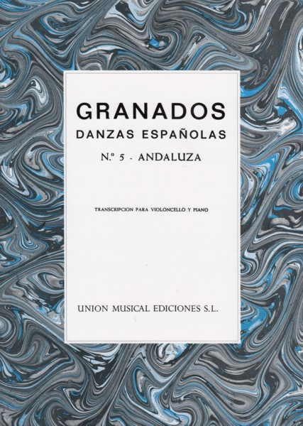 "Image for Danzas Espanolas No.5 ""Andaluza"" - Cello & Piano"