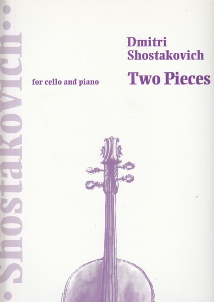 Image for Two Pieces for Cello and Piano