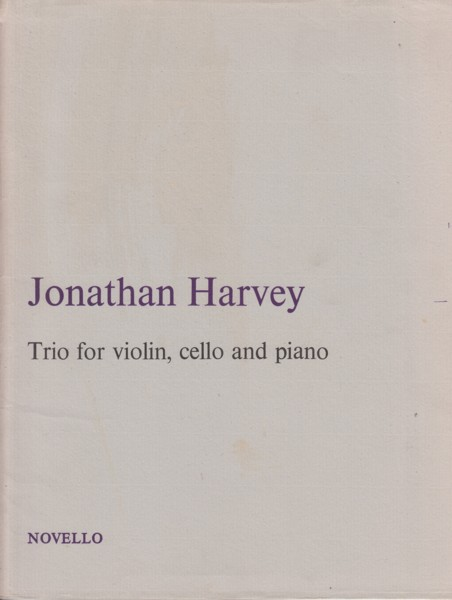 Image for Trio for Violin, Cello and Piano - Set of Parts
