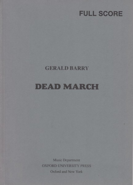Image for Dead March - Full Score