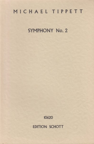 Image for Symphony No.2 - Study Score