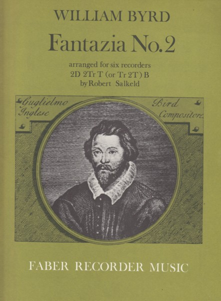 Image for Fantazia No.2 arranged for Six Recorders - Score & Parts