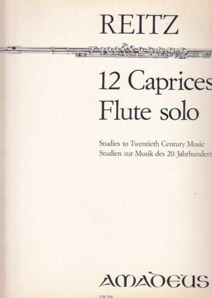 12 Caprices Flute Solo, Op.4