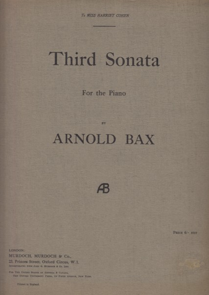Image for Third Sonata for the Piano