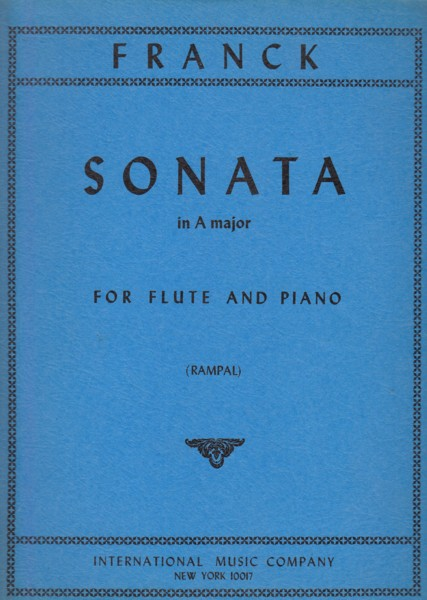 Image for Sonata in A major for Flute and Piano