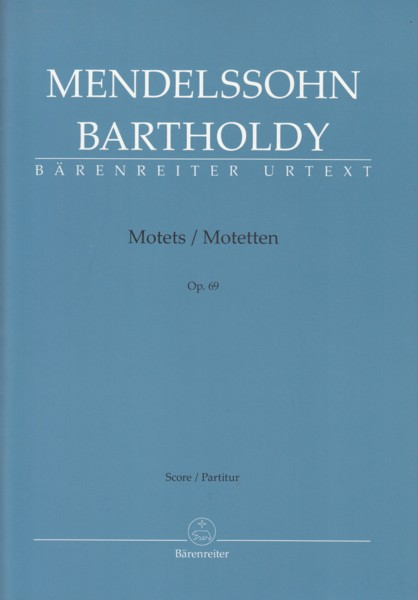 Image for Motets, Op.69 - Vocal Score