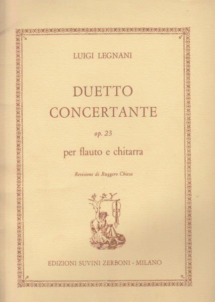 Image for Duetto Concertante, Op.23 for Flute & Guitar