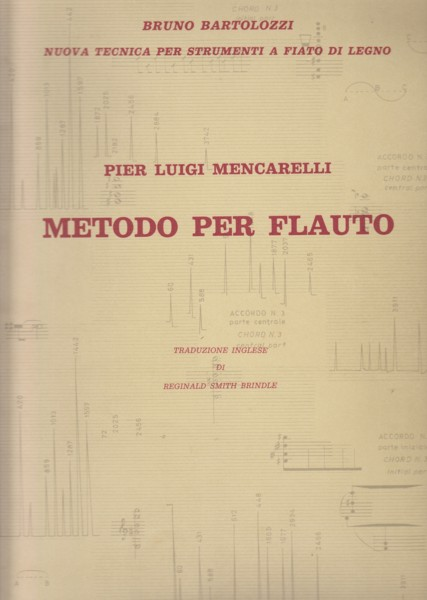 Image for Metodo per Flauto