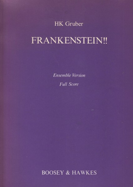 Image for Frankenstein!! - Ensemble Version Full Score