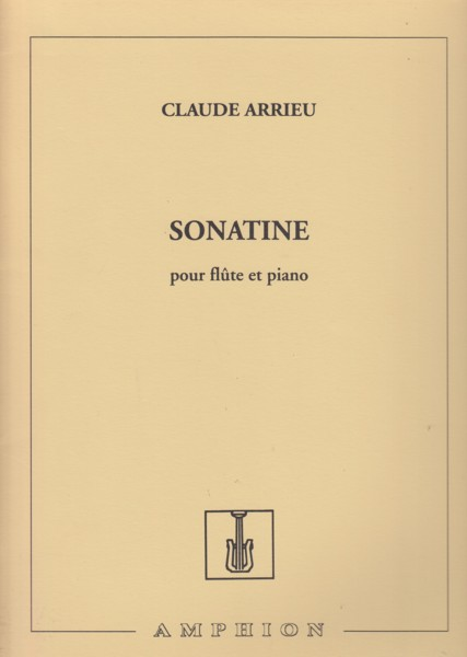 Image for Sonatine for Flute & Piano