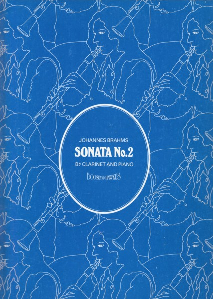 Image for Sonata in E flat major, Op.120 No.2 for Clarinet & Piano