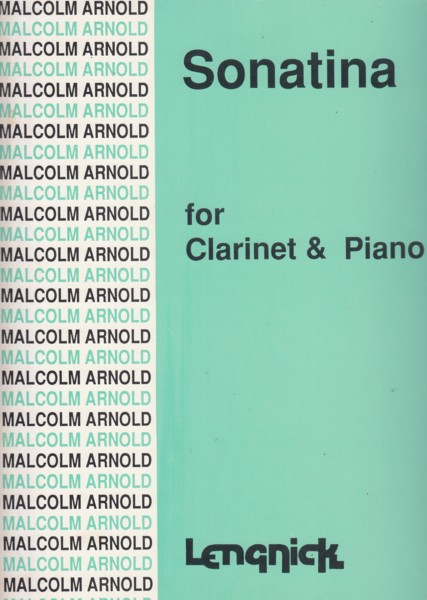 Image for Sonatina for Clarinet & Piano