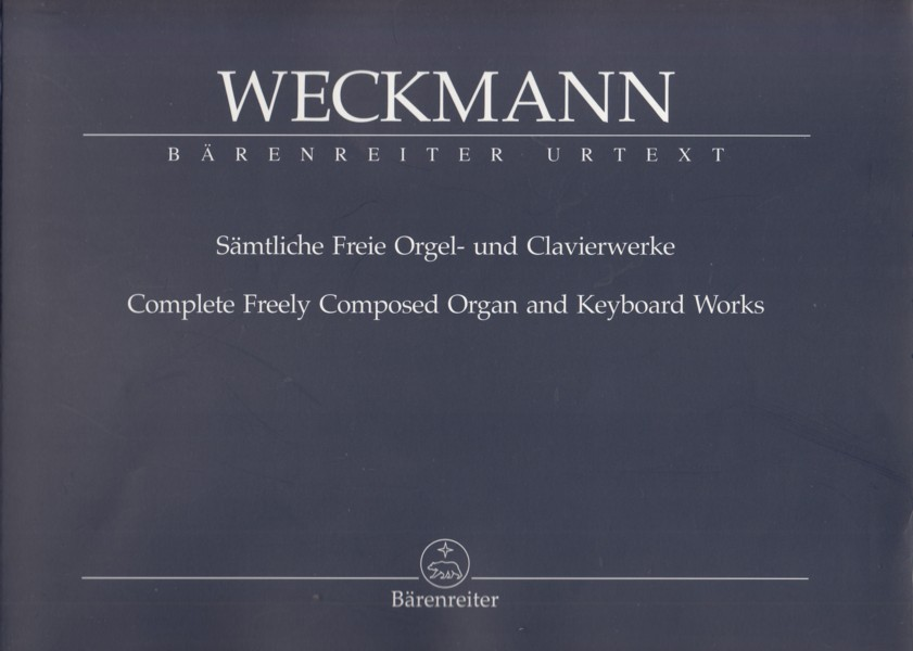 Image for Complete Freely Composed Organ and Keyboard Works