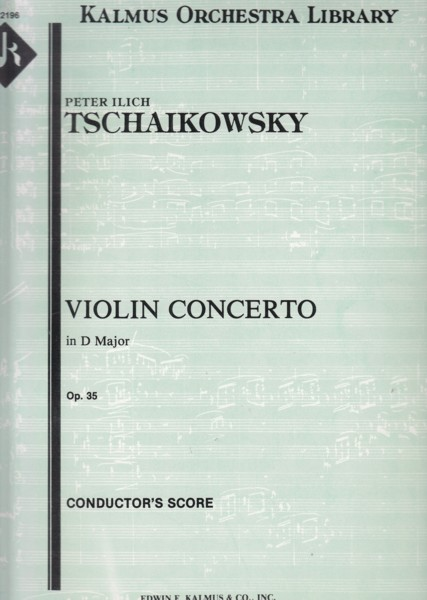 Violin Concerto in D major, Op.35 - Full Score