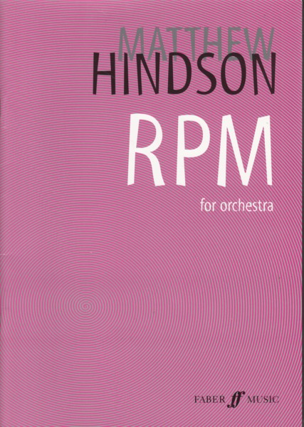 Image for RPM for Orchestra - Full Score