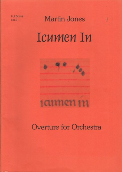 Image for Icumen In, Overture for Orchestra - Full Score