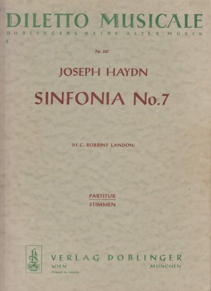 """Symphony No.7, Hob.I.7 """"Le Midi"""" - Full Score & Set of Parts"""