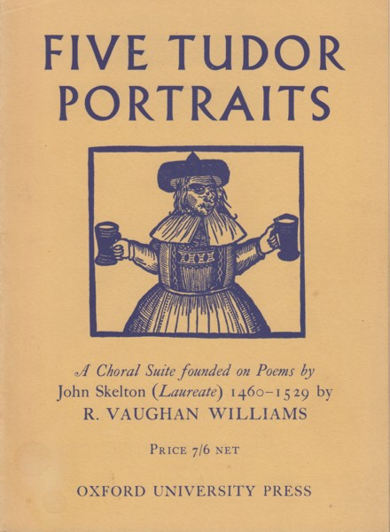 Image for Five Tudor Portraits - Vocal Score
