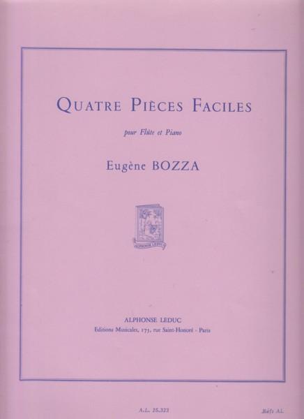 Quatre Pièces Faciles - Flute & Piano