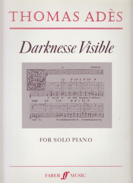 Image for Darknesse Visible for Solo Piano