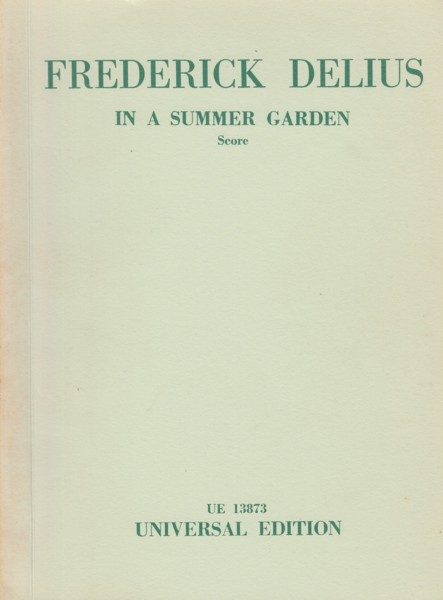Image for In a Summer Garden - Study Score