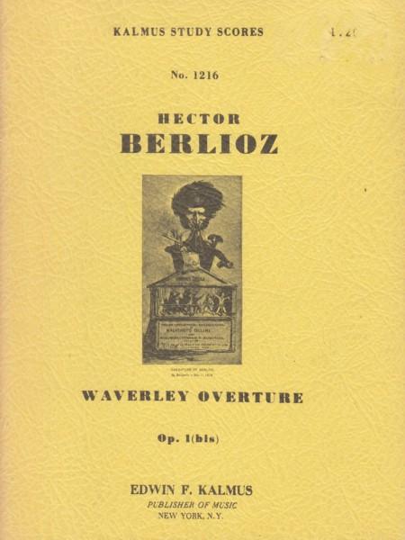 Waverley Overture, Op.1 (bis) - Study Score