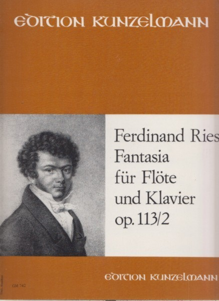 Image for Fantasia for Flute and Piano, Op.113 No.2