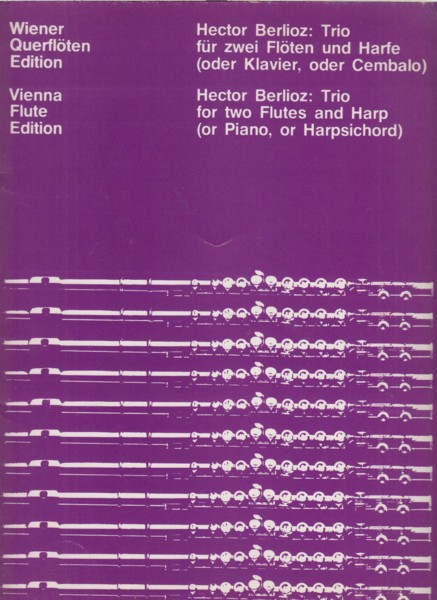 Image for Trio for Two Flutes and Harp (or Piano, or Harpsichord)