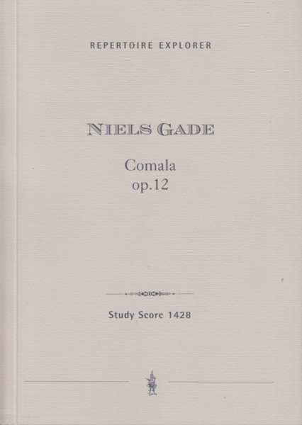 Image for Comala, Dramatic Poem after Ossian, Op.12 - Study Score