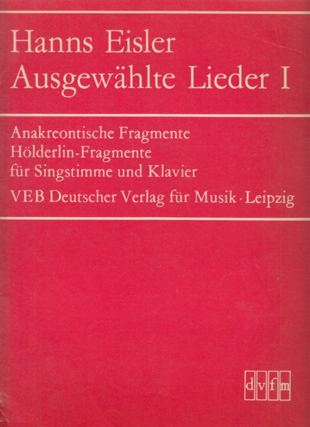 Selected Lieder Book 1
