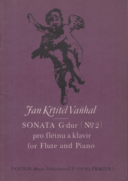 Image for Sonata No.2 in G major for Flute and Piano