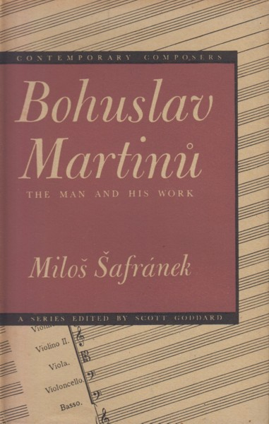 Image for Bohuslav Martinu, The Man and His Music