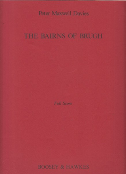 Image for The Bairns of Brugh for Instrumental Ensemble - Full Score