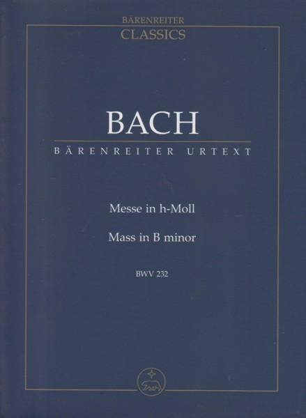 Image for Mass in b minor, BWV 232 - Study Score
