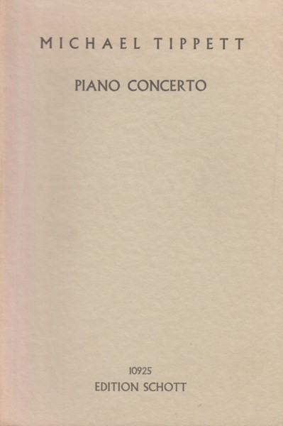 Image for Concerto for Piano and Orchestra - Study Score