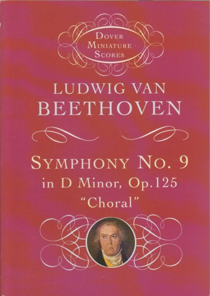 "Image for Symphony No.9 in d minor, Op.125 ""Choral"" - Study Score"