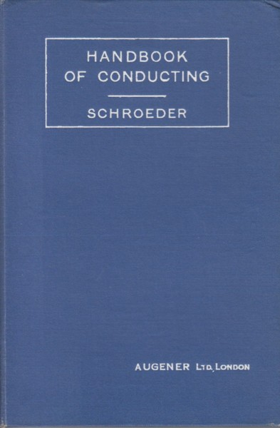 Image for Handbook of Conducting