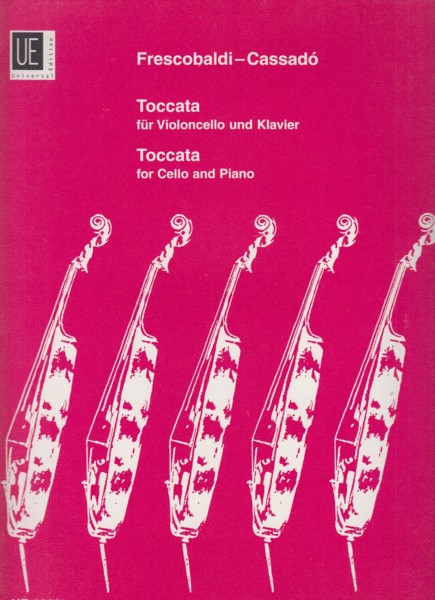 Image for Toccata for Cello & Piano