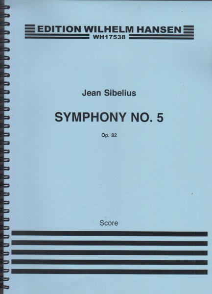 Image for Symphony No.5, Op.82 - Full Score