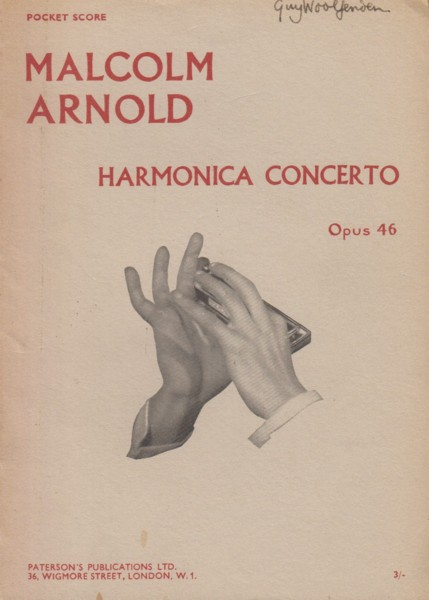 Image for Harmonica Concerto, Op.46 - Study Score