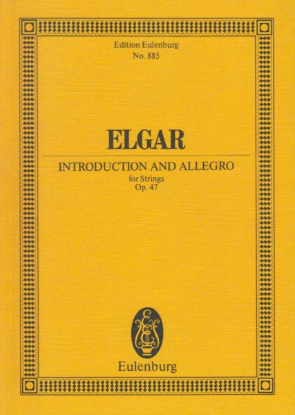 Introduction and Allegro for Strings, Op.47 - Study Score
