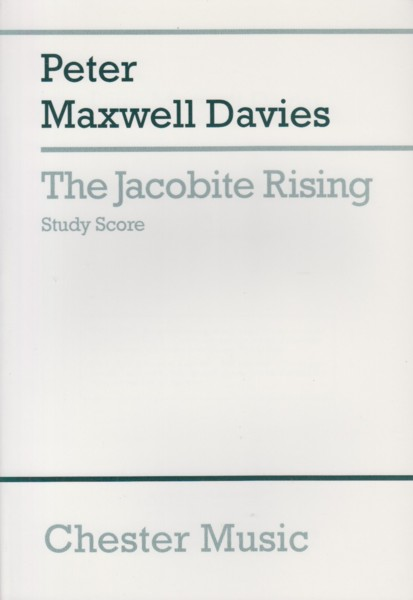 Image for The Jacobite Rising - Study Score