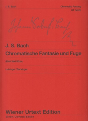 Image for Chromatic Fantasy and Fugue, BWV 903/903a