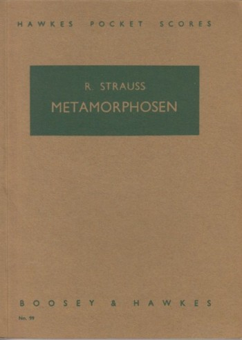 Image for Metamorphosen for 23 Solo Strings - Study Score